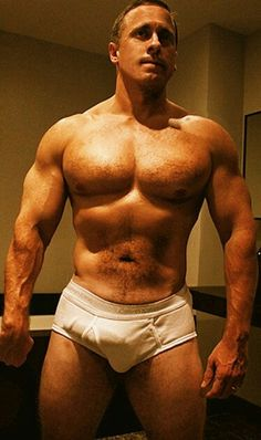 Men in tighty Whities