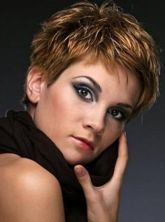 pixie hair styles for thin hair | Short-Brown-Hairstyle.jpg 456×616 pixels | My Style