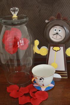 Beauty and the Beast Cogsworth the Clock DIY by KreationsParties. $2.50, via Etsy.