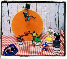 SUPERHERO PACK DappleDough set of 6 Colorations 6oz play dough All named for superhero's by V3STIOs, $15.99