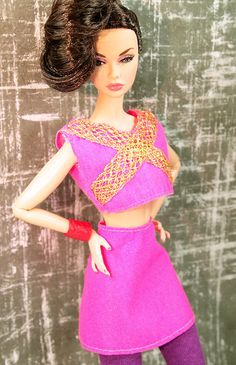 Barbie Bollywood Rave Outfit $8.75 via @shopseen