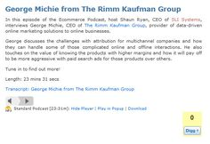 George Michie from The Rimm Kaufman Group