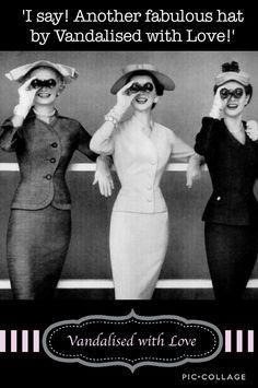 Vintage Hats, Ascot, Uk Shop, Headpiece, Bespoke, Peplum Dress, Ready To Wear, Barn, Etsy Shop