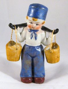 1934 Chicago Worlds Fair Little Dutch Boy porcelain figurine