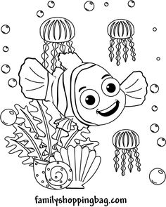 coloring page finding nemo coloring pages free printable ideas from family