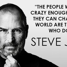 Top 100 steve jobs quotes photos #TBT If you think you can, go for it! ⌚️ See more http://wumann.com/top-100-steve-jobs-quotes-photos/