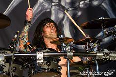 Christian Coma of Black Veil Brides at Vans Warped Tour 2013