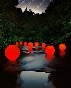 Barry Underwood  Orange Stream, 2008