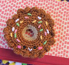 Donut amigurumi pattern by Amigurumi food