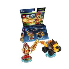 LEGO Dimensions Legends of Chima Laval Fun Pack (71222)