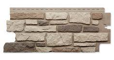 Nailon Ledgestone Plus Rocky Mountain Clay Panel