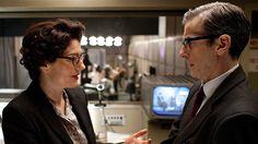Lix (Anna Chancellor) and Randall (Peter Capaldi) in Series 2