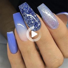 ❗️❗️❗️follow pour plus @putmeinmood 👈🏽 #nails #nailsinspiration #nailstagram #nailsofinstagram #nailsnailsnails # nails2inspire # inspire… #trendynaildesigns Long Gel Nails, Coffin Nails Long, Long Acrylic Nails, Long Nail Designs, Simple Nail Designs, Nail Art Designs, Fabulous Nails, Perfect Nails, Gorgeous Nails