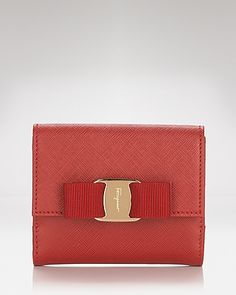 Salvatore Ferragamo Wallet - Miss Vara Bow