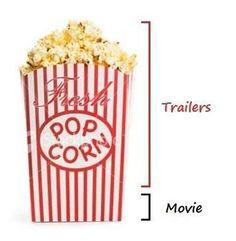 The way I eat popcorn