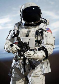 When you shoot a gun in space, things can get pretty weird. - Album on Imgur