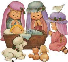 Belén, Adoración al Niño Jesús