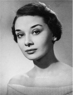 Elegant Audrey Hepburn