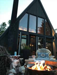 Perfect summer nights!  A-frame cabin