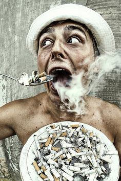 easy way to stop smoking by Mike Zvegintcev, via Behance