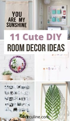 Transform your room with these cute DIY room ideas. From wall hanging to mirror, you will find plenty of DIY room decor. #diy #diyroomdecor #decorideas #Porculine Cute Diy Room Decor, Diy Home Decor, Hanging Flower Wall, Wooden Storage Boxes, Own Quotes, Decorate Your Room, Cute Diys, Leaf Art, You Are My Sunshine