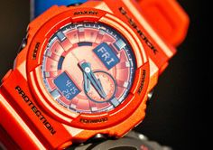 G-Shock watches. Like a boss.
