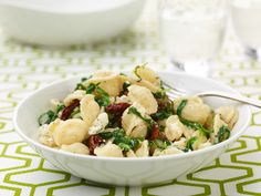 Orecchiette with Mixed Greens and Goat Cheese Recipe : Giada De Laurentiis : Food Network - FoodNetwork.com