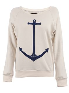 Who wouldn't want this?  I would probably want it more if the anchor were aquamarine/mint and the background was black.  : D