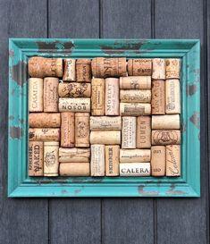 #winecorkboard #corkboard #winecorks #jewelryorganizer #jewelrydisplay #jewelrystorage #bulletinboard #officedecor #officeorganization #turquoiseandbrown #turquoisedecorlivingroom Cork Bulletin Boards, Cork Boards, Jewellery Storage, Jewelry Organization, Cork Board Jewelry, Wine Cork Holder, Recycled Wine Corks, Champagne Corks, Wine Bottle Stoppers