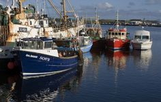 Experience Killybegs Harbour, County Donegal on the Touch of Northern Ireland Self-Drive 8 Day Tour. For more information, call us today!