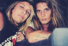 Sebastian Bach and Vince Neil. Skid Row and Motley Crue. this is a hotness sandwich that I wouldn't mind being in the middle of. Girls Girls Girls, Glam Metal, Tommy Lee, Nikki Sixx, Glam Rock, Heavy Metal, Musical Hair, Vince Neil, Skid Row