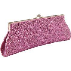 #EveningBags, #Handbags - Moyna Handbags Beaded Evening Clutch Fuchsia - Moyna Handbags Evening Bags