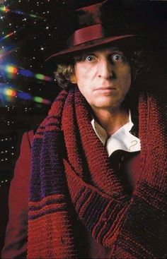 Tom Baker as Doctor Who in The Leisure Hive 4th Doctor, Doctor In, Doctor Stuff, Eleventh Doctor, Die Füchsin, Original Doctor Who, Classic Doctor Who, Sci Fi Series, Rory Williams