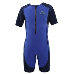 Aqua Sphere Stingray Short Sleeve Wet Suit, Blue, Size 10  http://fishingrodsreelsandgear.com/product/aqua-sphere-stingray-short-sleeve-wet-suit-blue-size-10/  100% UVA/UVB protection Hybrid construction of neoprene and spandex Available sizes: 2Y-10Y
