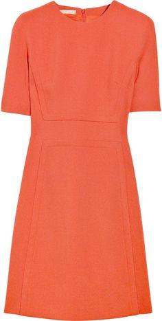 Michael Kors Bouclé Wool-blend Shift Dress