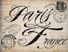 paris Printable