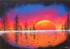 The Bloomin' Couch: Spray paint art rawks!
