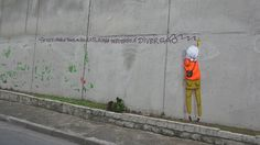 Os Gémeos, Sao Paulo. 'if you obey all the rules, you end up losing all the fun'