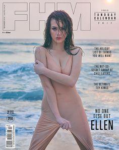 Ellen Adarna , Gee Canlas , FHM Filipinas, Diciembre 2016