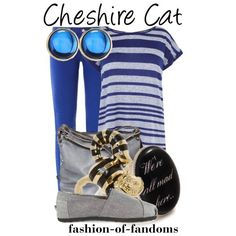 cheshire cat fashion | Found on polyvore.com