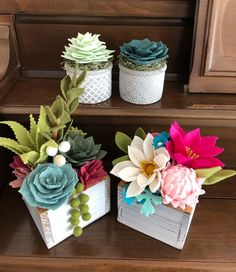 Image may contain: flower and plant – Felt Florals – Garden Styles Felt Flower Bouquet, Felt Flowers, Diy Flowers, Fabric Flowers, Felt Flower Diy, Felt Diy, Felt Crafts, Paper Crafts, Cactus Craft