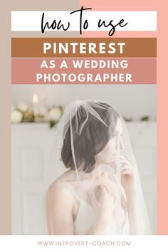 A complete guide for how wedding photographers should be using Pinterest to grow their brand, audience and book more clients. The wedding industry is one of the biggest on Pinterest, but if you really want results that convert it's important to follow these tips and do your Pinterest marketing the right way! #weddingphotographers #pinterestmarketing #pinteresttips #pinterestforbusiness #photographertips Photography Marketing, Photography Business, Photography Tips, Wedding Photography, Creative Business, Business Tips, Business Planner, Pinterest For Business, Wedding Planning Tips