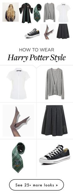 """Untitled #11079"" by iamdreamchaser on Polyvore featuring George, Organic by John Patrick, Simply Vera and Converse"