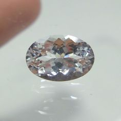 3 Cts Goshenite 10.5x7.2 mm Oval Shape Excellent Cut White Beryl Faceted Stone  #Unbranded
