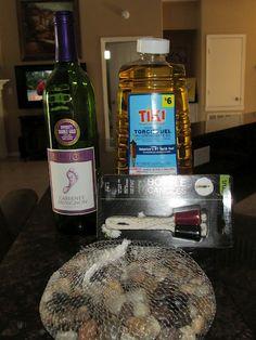 Easy DIY Wine Bottle Torch :)