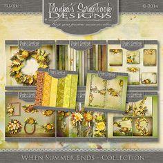 Ilonka's Scrapbook Designs: When Summer Ends by Ilonka's Scrapbook Designs