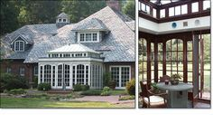 Hipped Roof Carriage House Orangery Conservatory