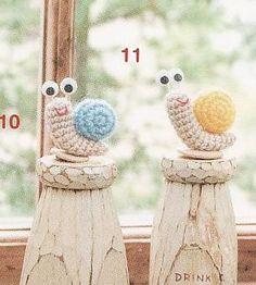 """""""Un Poquito de Todo: patron caracol crochet, amigurumi"""" #Amigurumi  #crochet"""