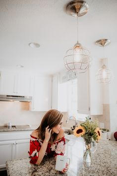 Recessed Lighting Conversion Kits| My Farmhouse Pendant Lights   a Giveaway