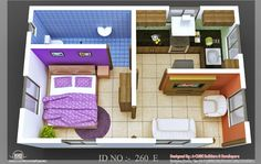 Charming house layout design very small house plans house small design view simple tiny layout charming . House Layout Design, Small House Layout, Small House Design, House Layouts, Guest House Plans, Small House Plans, The Plan, Studio Apartment Floor Plans, One Bedroom House